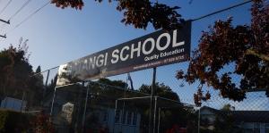 Matangi School Sign