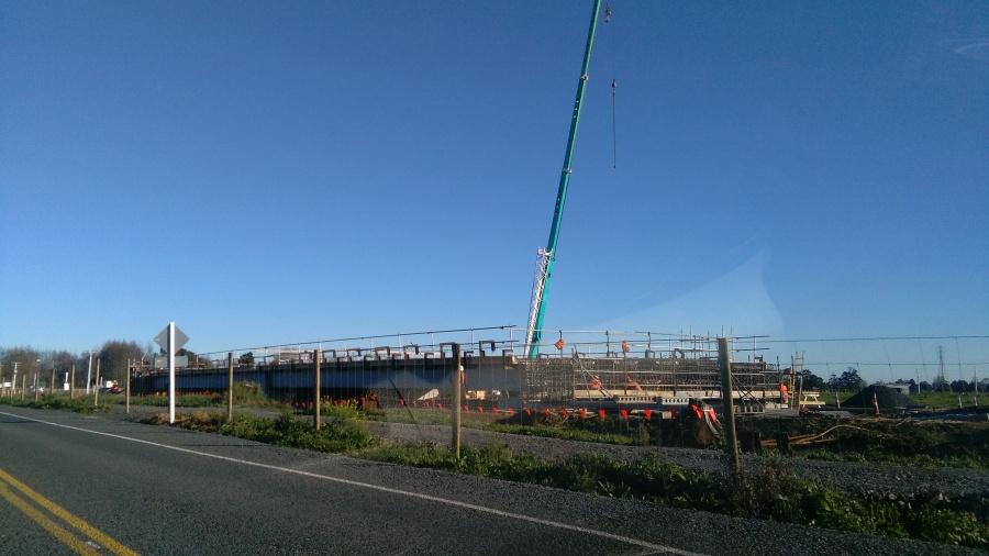 Expressway Bridge Construction
