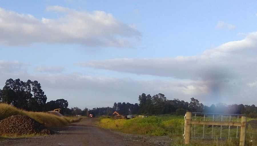 Expressway, Matangi Road Towards gully March 2018