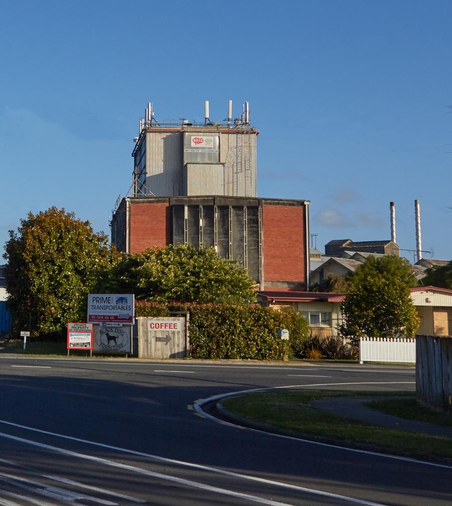 Matangi Dairy Factory and crossroads