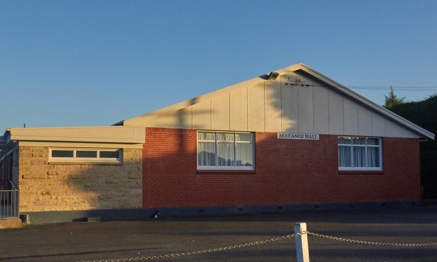 Matangi Hall, Tauwhare Road