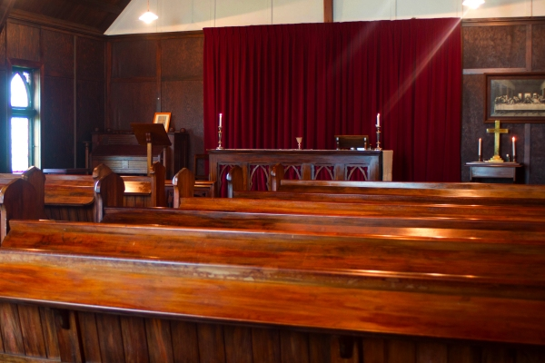 St David's interior - looking towards altar
