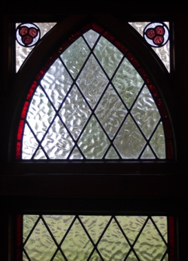 St David's interior - Detail of side window