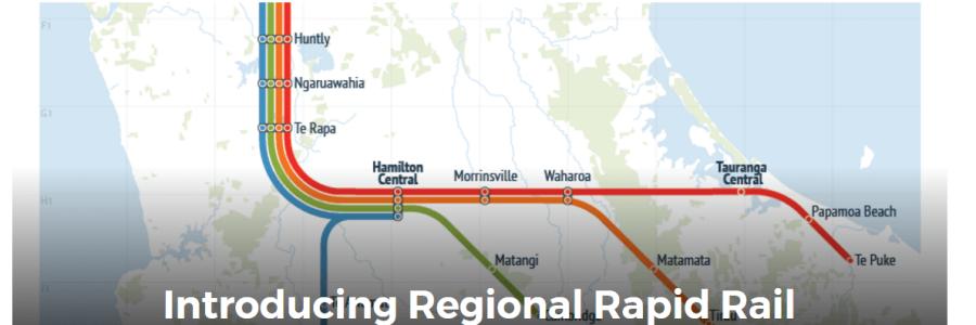 Auckland Regional Rapid rail including Matangi