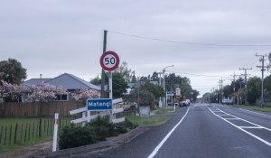 Tauwhare Road into Matangi
