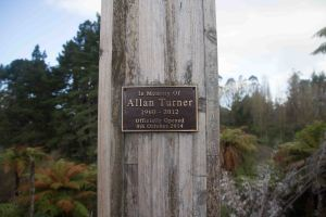 Alan Turner Walkway Sign