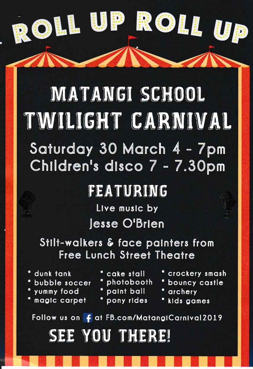 Matangi School Twilight Carnival 2019