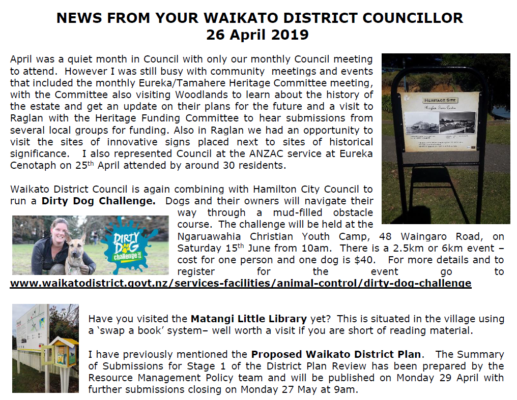 Image of WDC April Newsletter